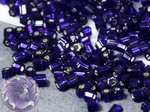 Бисер 5г TOHO- Hexagon 11/0 Silver-Lined Cobalt