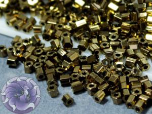 Бисер 5г TOHO- Hexagon 11/0 Bronze