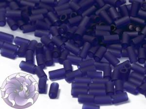 Стеклярус TOHO bugle #1 3мм Frosted Dark Sapphire