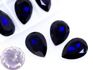 Кристалл К9 Капля 25х18мм цвет Capri Blue