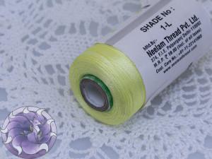 Нитки вискоза для кистей 120D/2 700м цвет №1-L