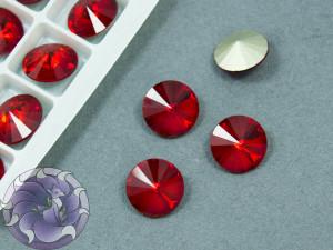 Кристаллы К9 Риволи 12мм цвет Light Siam