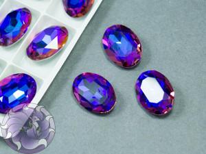 Кристал К9 Овал 18*13мм Цвет Violet Blue