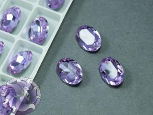 Кристал К9 Овал 14х10мм Цвет Violet