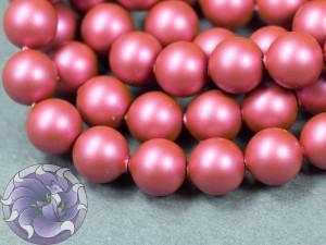 Swarovski 5810 Round Pearl Beads- Mulberry Pink Pearl 2мм, 3мм, 4мм, 6мм 8мм