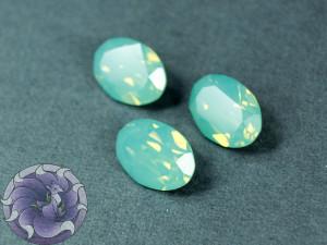 Кристалл 4120 Swarovski Овал 14х10мм цвет Pacific opal foiled