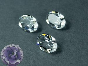 Кристалл 4120 Swarovski Овал 14х10мм цвет Crystal NOTfoiled прозрачный