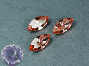 Кристалл маркиз 4228 Swarovski 15х7мм цвет ROSE PEACH