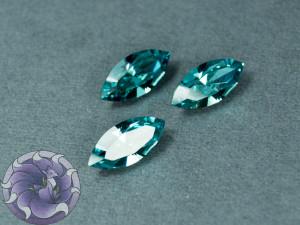 Кристалл маркиз 4228 Swarovski 15х7мм цвет Aqua