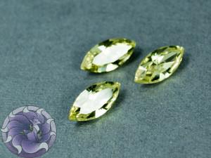 Кристалл маркиз 4228 Swarovski 15х7мм цвет JONQUIL