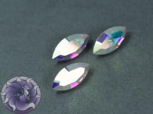 Кристалл маркиз 4228 Swarovski 15х7мм цвет CRYSTAL AB