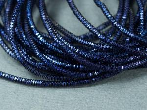 Канитель трунцал 1.5мм цвет Темно синяя 5г