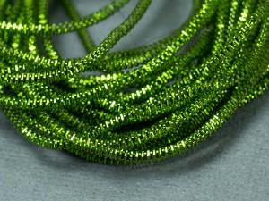 Канитель трунцал 1.5мм цвет Светло-зелёная 5г