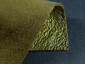 Кожа натуральная итальянская 0,8мм Золото
