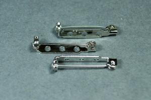 Основа для броши 28 мм Цвет Серебро, США
