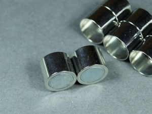 Основа для жгута застежка магнит Диаметр 12мм