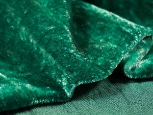 Шелковый бархат натуральный ручного окрашивания Цвет Бледно зеленый