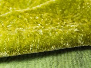 Шелковый бархат натуральный ручного окрашивания Цвет Хаки