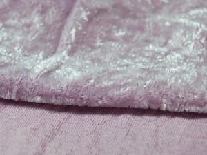 Шелковый бархат натуральный ручного окрашивания Цвет Бледно лиловый