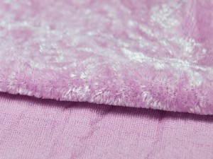 Шелковый бархат натуральный ручного окрашивания Цвет Розово сиреневый