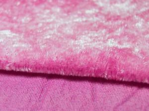 Шелковый бархат натуральный ручного окрашивания Цвет Нежно розовый