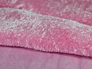 Шелковый бархат натуральный ручного окрашивания Цвет Розовая балерина