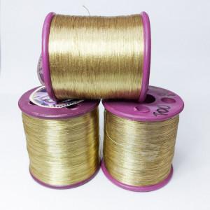 Нитки металлизированные для вышивки индийские Beige 001