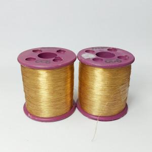 Нитки металлизированные для вышивки индийские Peach 006