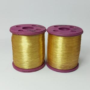 Нитки металлизированные для вышивки индийские Gold 007