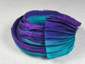 Шелковая Лента Шибори (Shibori silk ribbon) L249