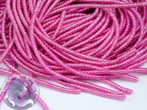 Канитель фигурная 2мм цвет Розовая 10g