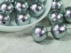 Хлопковый жемчуг Cotton Pearls 10mm Rich Gray Japan