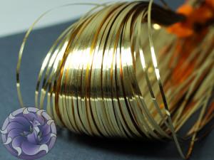 Бить плоская 10шт 1мм Gold