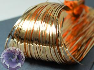 Бить плоская 10шт 1мм Ligth Gold