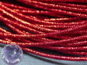 Канитель упругая 1.5мм цвет красная