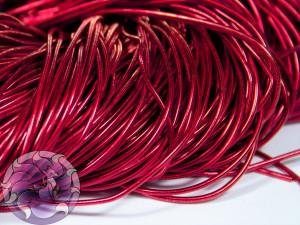 Канитель гладкая 1мм цвет Красная