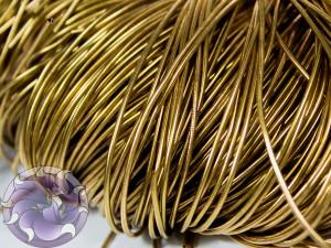 Канитель гладкая 1мм цвет Ржавчина