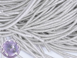 Канитель фигурная 1.5мм цвет Серебро
