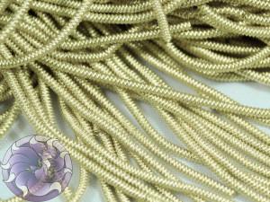 Канитель фигурная 1.5мм цвет золото