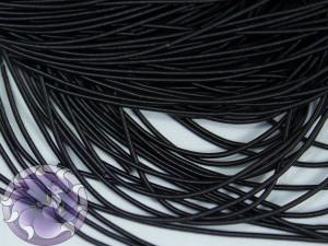 Канитель мягкая гладкая 1мм цвет Чёрная