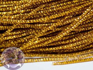 Канитель трунцал 1.5мм цвет Рыжее золото 5 грамм