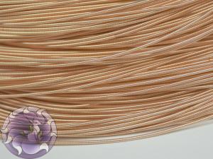 Канитель жесткая 1мм цвет розовое золото