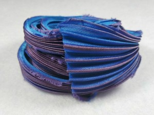 Шелковая Лента Шибори (Shibori silk ribbon) L240