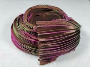 Шелковая Лента Шибори (Shibori silk ribbon) L238