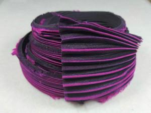 Шелковая Лента Шибори (Shibori silk ribbon) L239