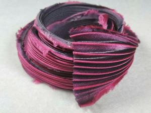 Шелковая Лента Шибори (Shibori silk ribbon) L236