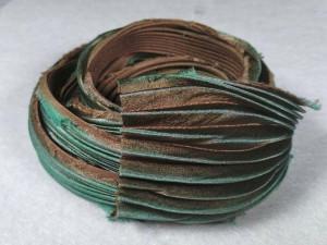 Шелковая Лента Шибори (Shibori silk ribbon) L233