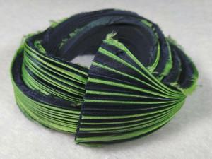 Шелковая Лента Шибори (Shibori silk ribbon) L232