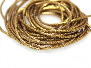 Канитель фигурная 1.5мм цвет Античное золото 5г