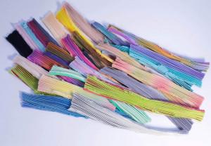Микс Шибори (Shibori silk ribbon mix) средний